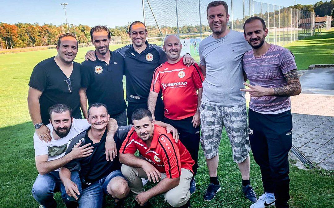 Acht (!) erfolgreiche FCLK-Trainer mit C-Diplom