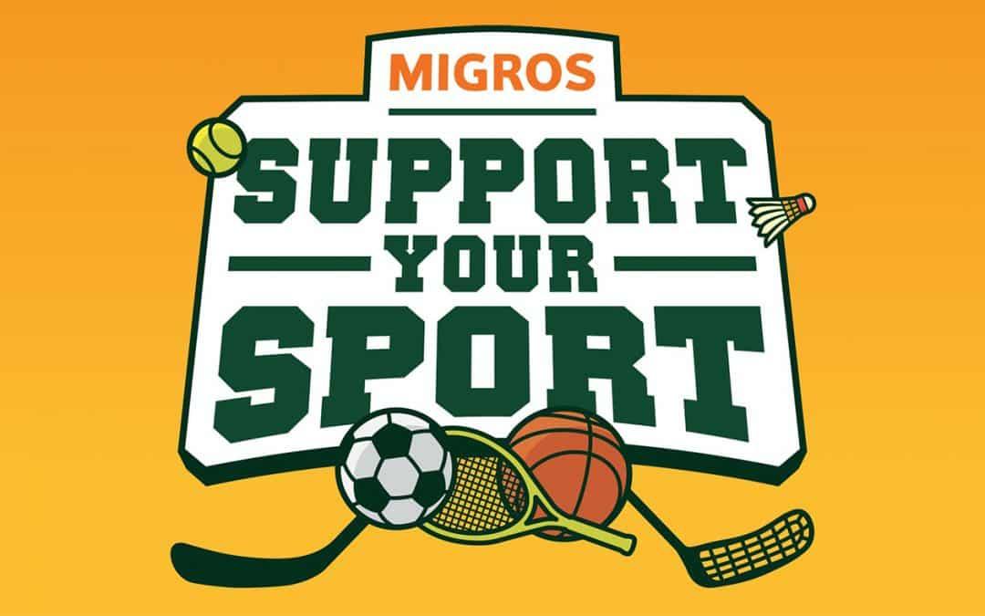 Migros Support your Sport: Danke für eure Unterstützung!